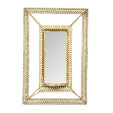 Lux Telkari Aynalı Mumluk