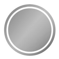 Frame Aydınlatmalı Yuvarlak Ayna 80 cm