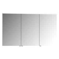 Premium Dolaplı Ayna 120 cm Parlak Beyaz