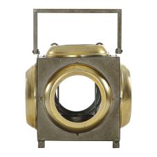 Pim Bronz Metal Saplı Mumluk