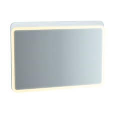 Sento Aydınlatmalı Ayna 100 cm Mat Beyaz