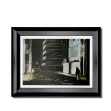 Sokaktaki Adam Çerçeveli Dekoratif Tablo