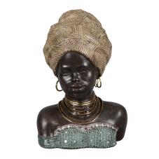 Lima Afrikalı Kadın Biblo