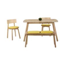Seven Sarı Masa Sandalye Seti