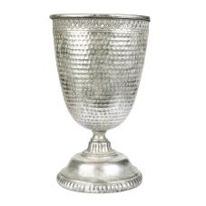 Marial Gümüş Metal Ayaklı Vazo