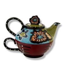 Cambria Dekoratif Çaydanlık