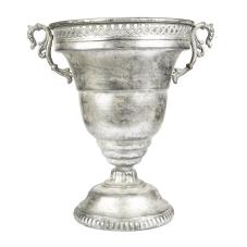 Marial Gümüş Metal Kupa Vazo
