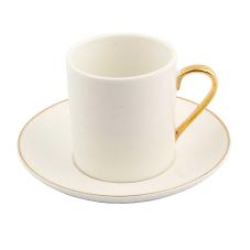 Style 6'lı Beyaz Kahve Fincan Takımı