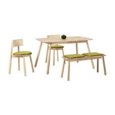 Seven Yeşil Masa Sandalye Seti