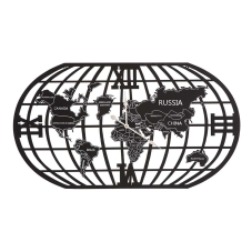Cool Metal Dünya Saati