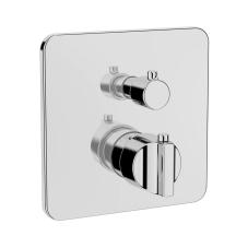 Suit Ankastre Termostatik Banyo Bataryası V-Box Sıva Üstü Grubu