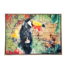 Doru Papağan Dekoratif Tablo