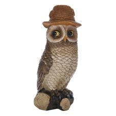 Lima Turuncu Şapkalı Baykuş Biblo