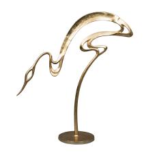 Gold Metal Kuğu Biblo