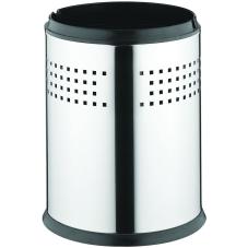 Arkitekta Çöp Kovası (5 Litre-Kovalı), Parlak Paslanmaz Çelik