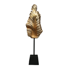 Gold Dekoratif Yaprak Biblo