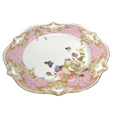 Style Rose Porselen 6Lı Pasta Tabağı