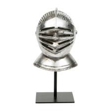 Dragon Metal Ayaklık Dekoratif Kask Biblo
