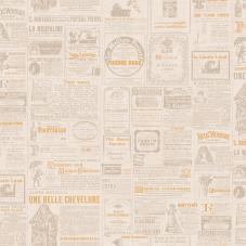 Duvar Kağıdı Freedom Newspaper DK.14235-1 (16,2 m2)