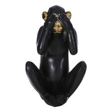 Andra Görmedim Dekoratif Maymun Biblo