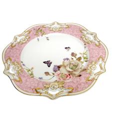 Style Rose Porselen Servis Tabağı