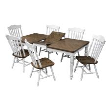 Family Beyaz Masa Sandalye Seti