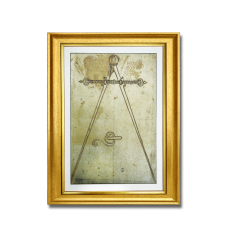 Antik Kılıçlar Dekoratif Çerçeveli Tablo