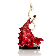 Bella Yelpazeli Flamengo Dansçı Kadın Alegria Biblo