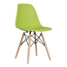 Aqua Yeşil Ahşap Ayaklı Sandalye