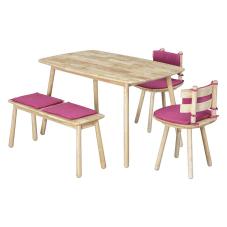 Seven-D Fuşya Yemek Masası Seti