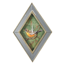 Dragon Kuş Desenli Duvar Saati