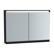 Frame Dolaplı Ayna 100 cm Mat Soft Siyah