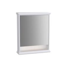 Valarte Aydınlatmalı Dolaplı Ayna 65 cm Mat Beyaz Sol