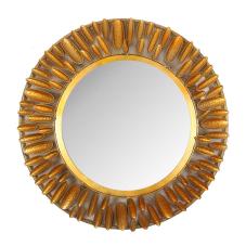 Lux Gold Oval Duvar Aynası