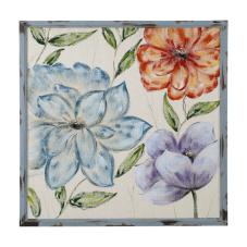 Doru Pastel Çiçek Dekoratif Tablo