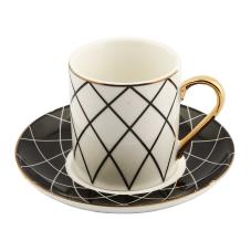 Style 6'lı Kareli Kahve Fincan Takımı