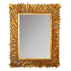 Lux Gold Dikdörtgen Duvar Aynası
