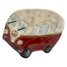 Duke Seramik Dekoratif Bordo Otobüs Kase