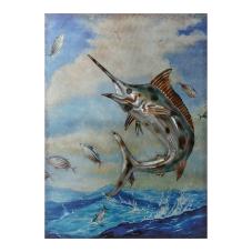 Pera Metal Kılıç Balığı Tablo