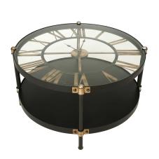 Clock Metal Sehpa