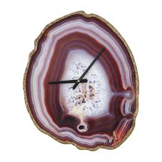 Arya Mor Sedef Görünümlü Duvar Saati