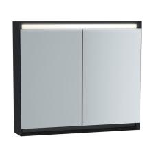 Frame Dolaplı Ayna 80 cm Mat Soft Siyah