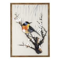Doru Dalda Kuşlar Dekoratif Tablo
