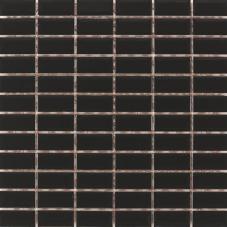 2.5x5 Metro Tiles Siyah Mozaik
