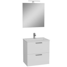 Mia Banyo Dolabı Seti 2 Çekmeceli 60 cm