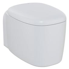 Plural Rim-Ex Kanalsız Asma Klozet, 55 cm, Mat Beyaz