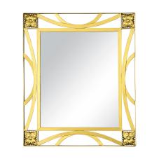Sultaniye Ferforje Gold Duvar Aynası