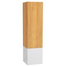 Frame Boy Dolabı 40 cm Açık Üniteli Mat Beyaz Sağ