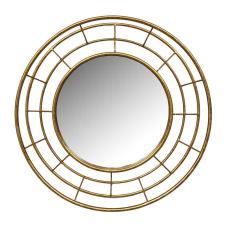 Lux Gold Yuvarlak Duvar Aynası