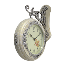 Gümüş Varaklı İstasyon Duvar Saati